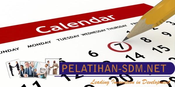 Jadwal Pelatihan sdm dan training karyawan 2018