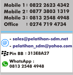 contact person pelatihan sdm