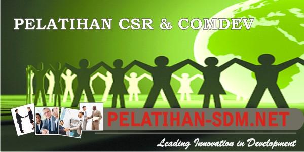 pelatihan CSR & Comdev