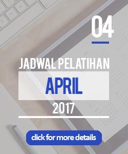 Jadwal pelatihan bulan april 2017