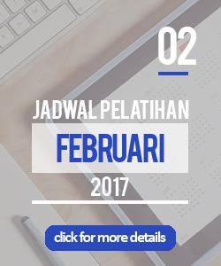 Jadwal pelatihan bulan februari 2017