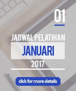 Jadwal pelatihan bulan januari 2017