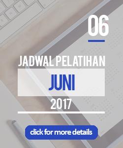 Jadwal pelatihan bulan juni 2017