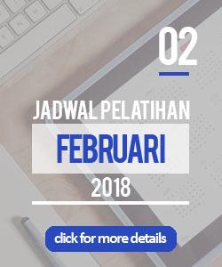 jadwal pelatihan bulan februari 2018