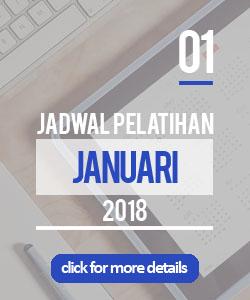 jadwal pelatihan bulan januari 2018