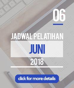 jadwal pelatihan bulan juni 2018