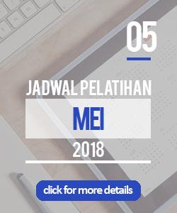 jadwal pelatihan bulan mei 2018