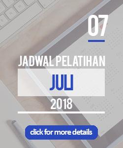 Jadwal pelatihan bulan juli 2018 di Yogyakarta